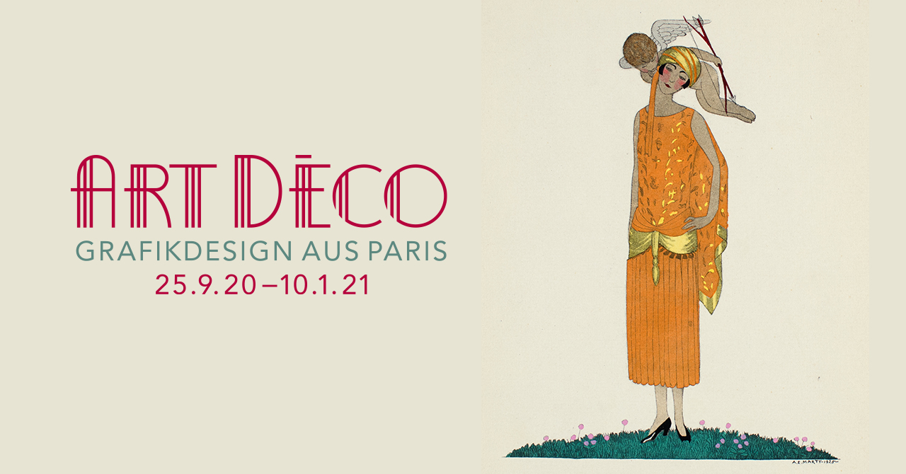 Art Déco - Grafikdesign aus Paris