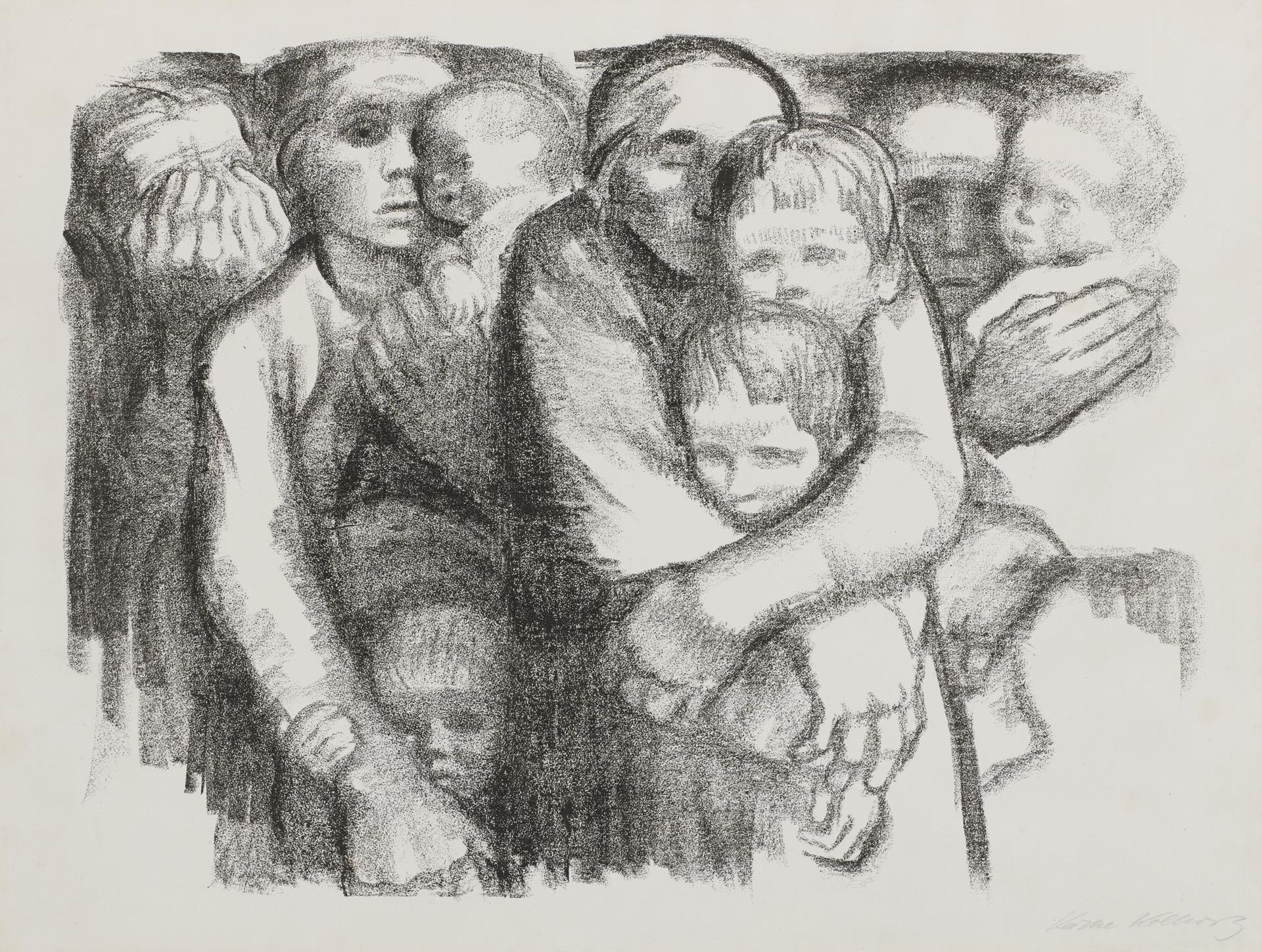 Sheet 6 »The Mothers« – Käthe Kollwitz Museum Köln