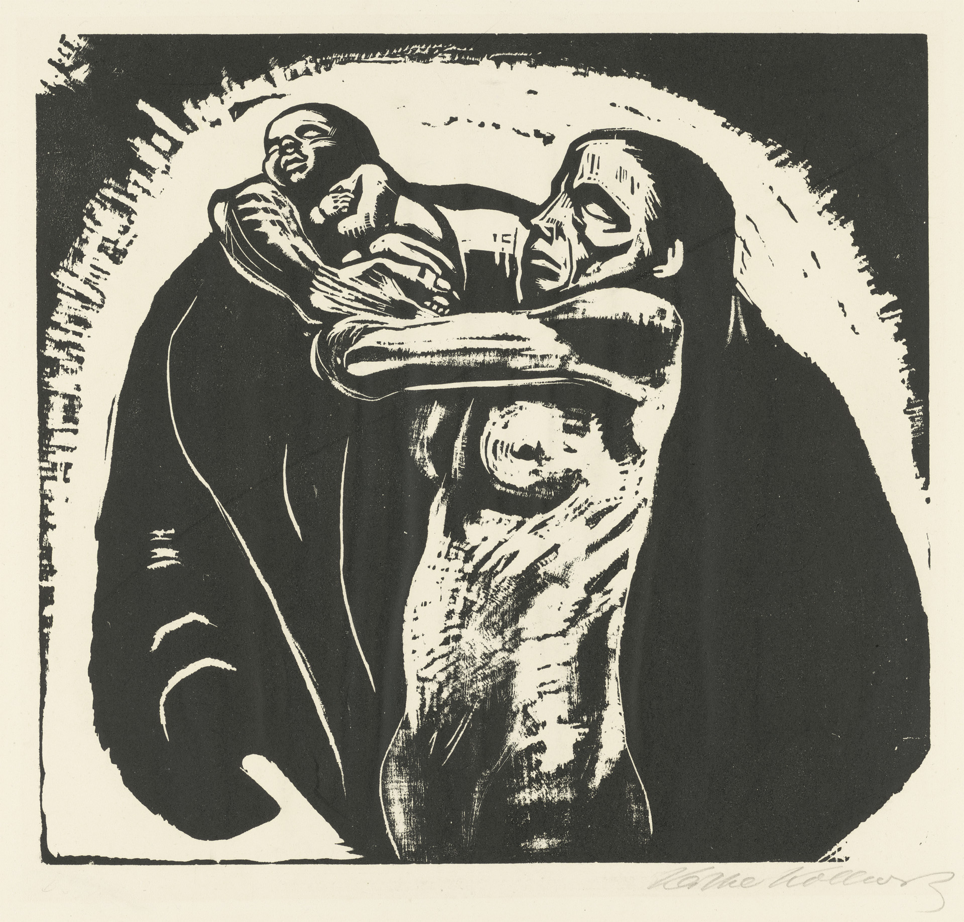Sheet 1 »The Sacrifice« – Käthe Kollwitz Museum Köln