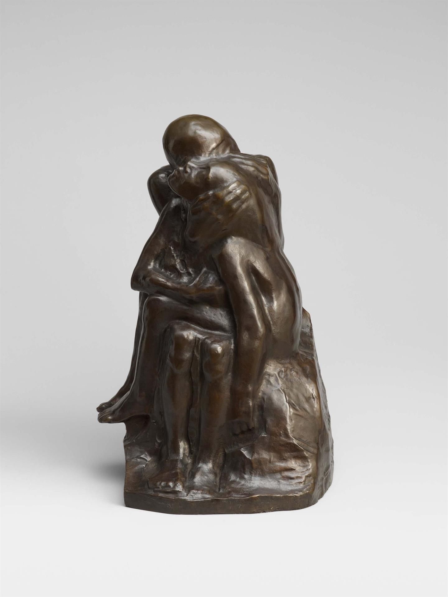 Käthe Kollwitz, Pair of Lovers, 1913-1915, bronze, Seeler 19.II.B.9., Cologne Kollwitz Collection © Käthe Kollwitz Museum Köln
