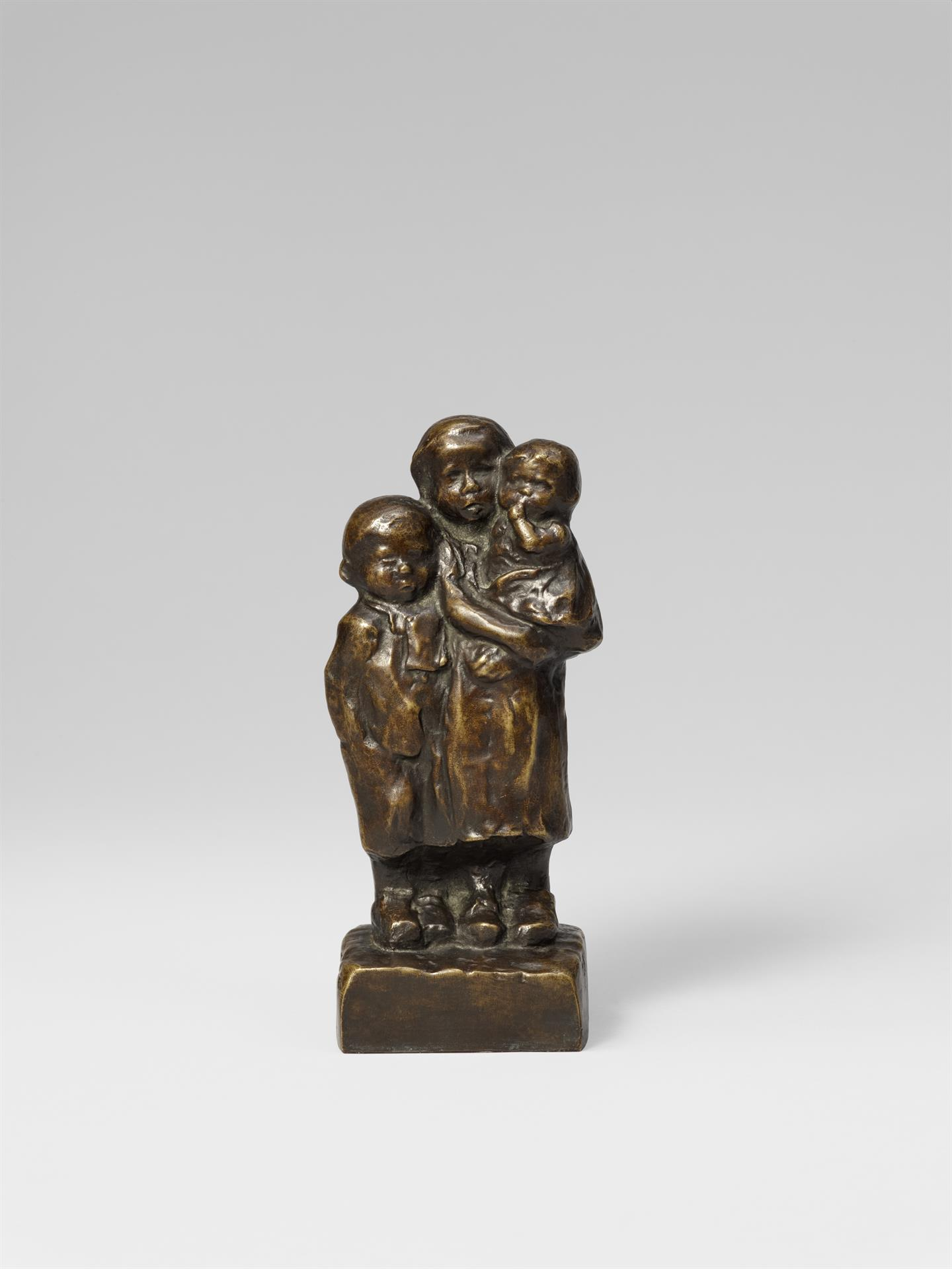 Käthe Kollwitz, Group of Children, presumably 1936/1937, bronze, Seeler 33 I.B.8., Cologne Kollwitz Collection © Käthe Kollwitz Museum Köln